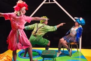 Teach, Teacher, Teachest. One-Eighth production at INTAR Theatre